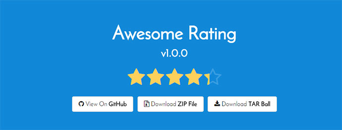 Awesome rating