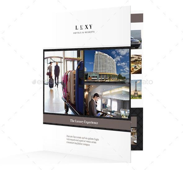 Hotel Bifold / Halffold Brochure