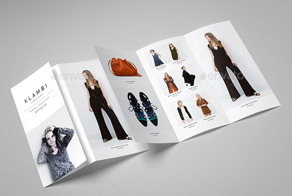 Fashion A4 Trifold Brochure