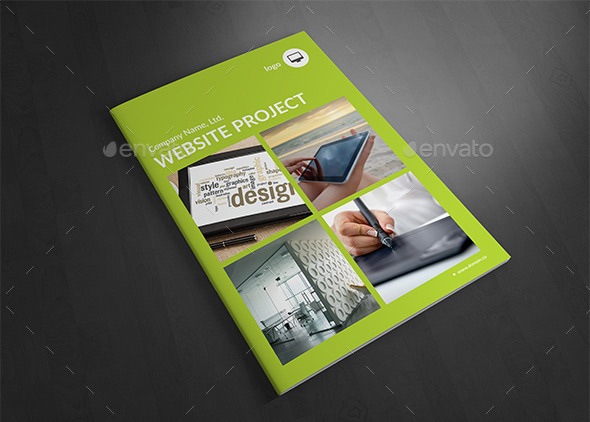 Website Portfolio Brochure