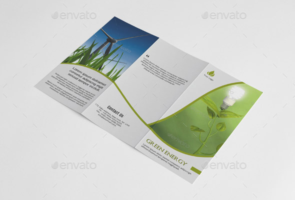 Green Energy Trifold-V199