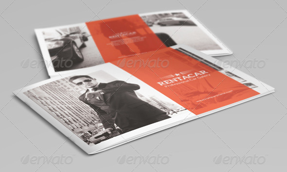 Rent A Car Brochure Template
