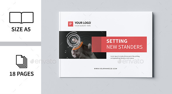 Minimal Business Brochure IV