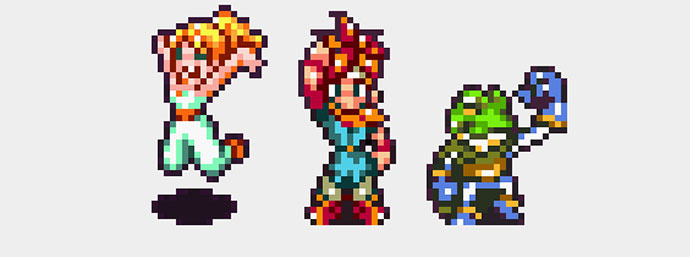 Chrono Trigger Animated Pixel Art