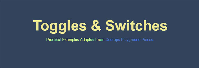 Toggles & Switches