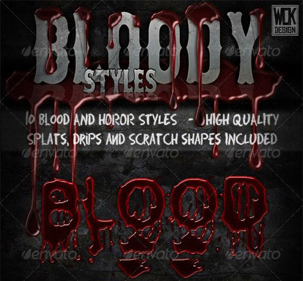 Bloody Horror Styles