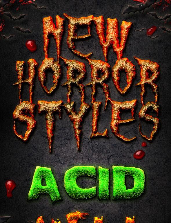New Horror Styles