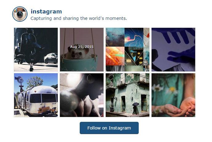 Angularjs instagram