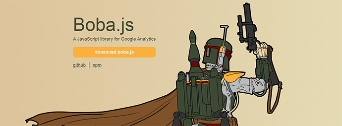 A JavaScript library for Google Analytics