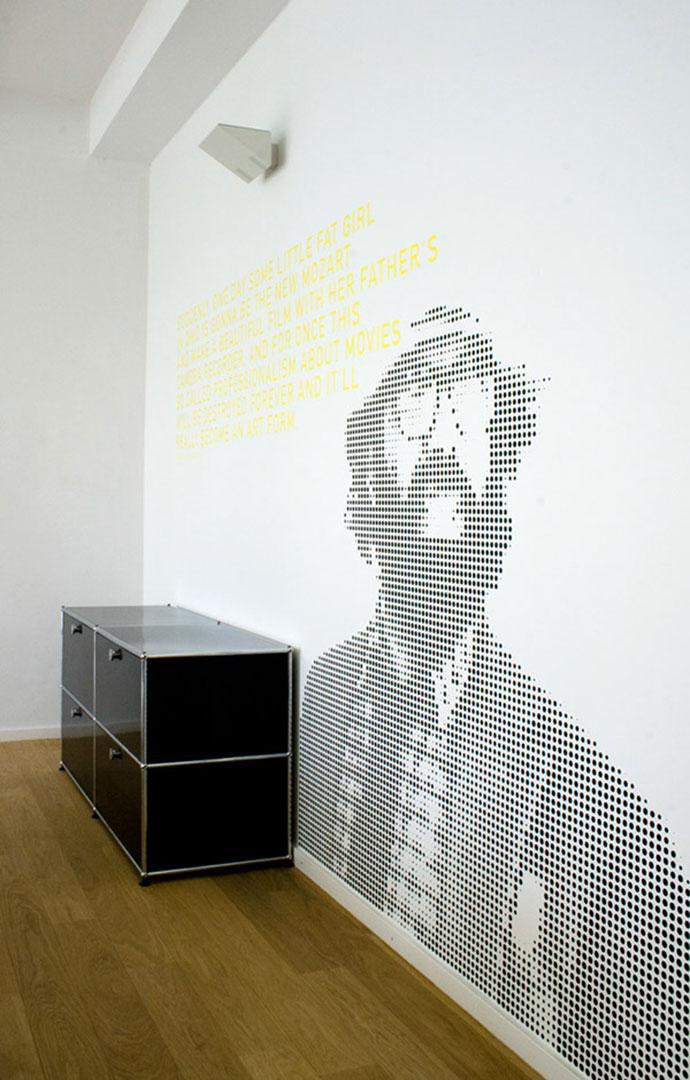 35 inspiring office branding designs web graphic - Design wandgestaltung ...