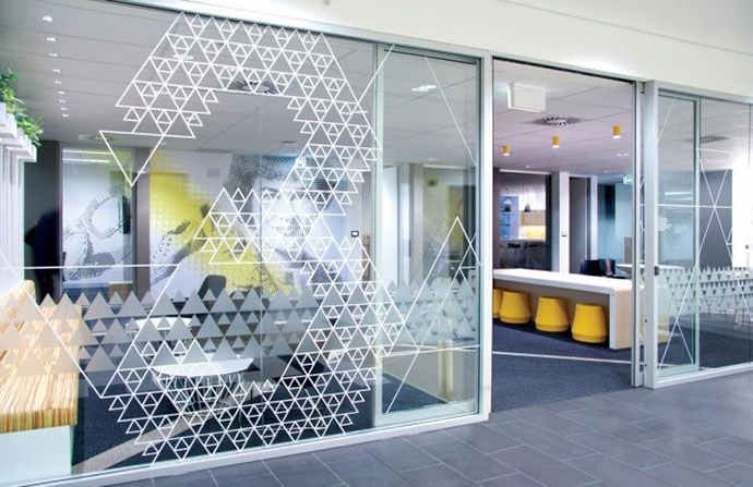 15 Inspiring Design Ideas: 35 Inspiring Office Branding Designs