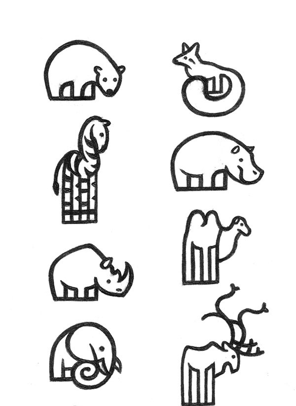 Pictograms - ZOO