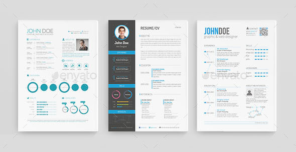30 best resume template designs 2015 web graphic design bashooka