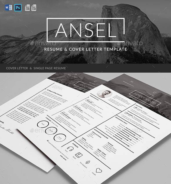 Best Resume Template Designs   Web  Graphic Design  Bashooka