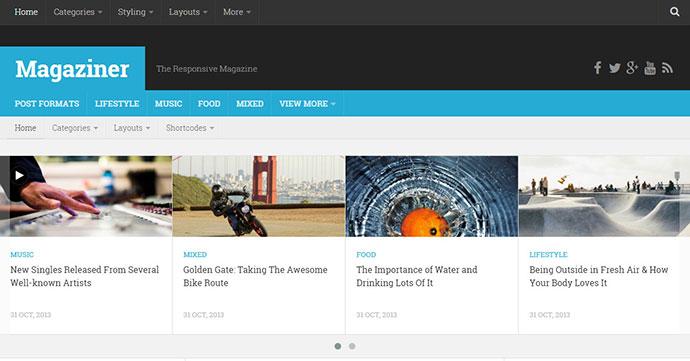 Magaziner - Responsive WordPress Magazine Theme