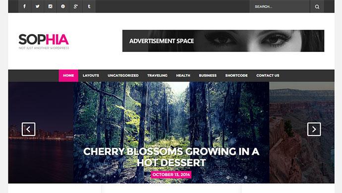 Sofia - An Elegant Magazine WordPress Theme