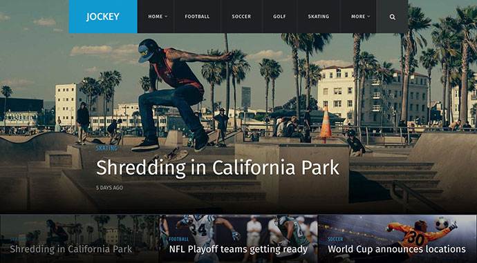 Jockey - Sports Magazine & News Theme