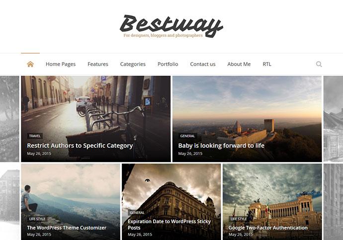 Best Way - Responsive WordPress Blog Theme