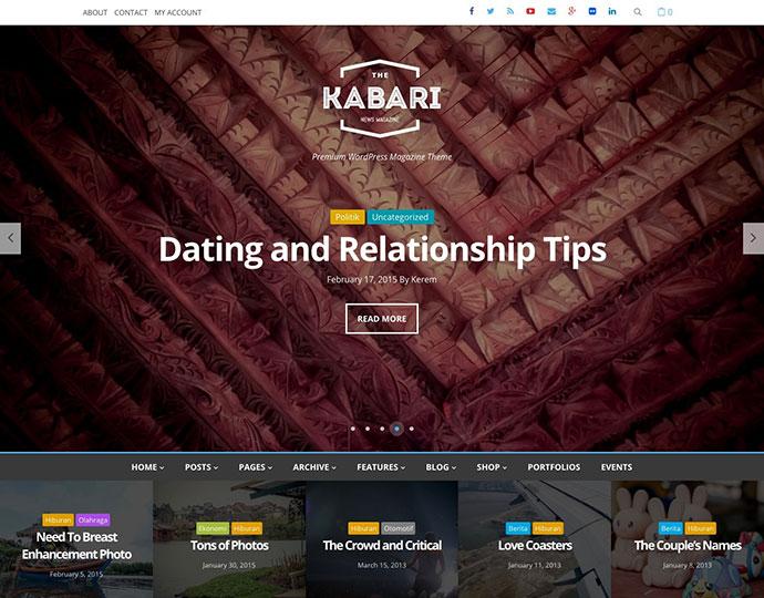Kabari - News & Magazine WordPress Theme