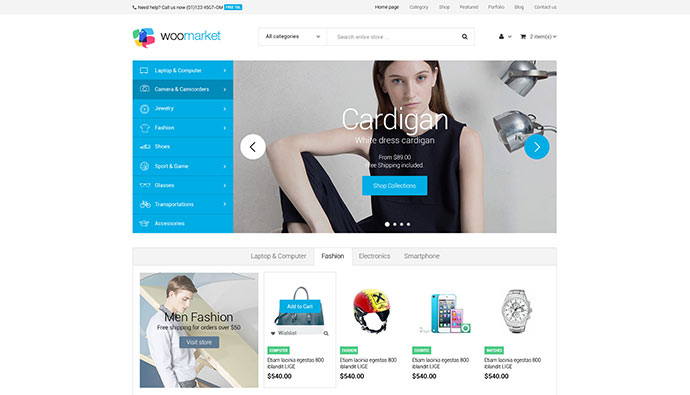 WooMarket - Supermarket WordPress WooCommerce Theme