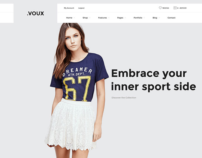 Voux WooCommerce Shopping Theme