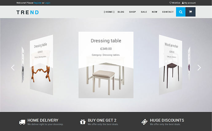 TREND - Responsive WooCommerce WordPress Theme