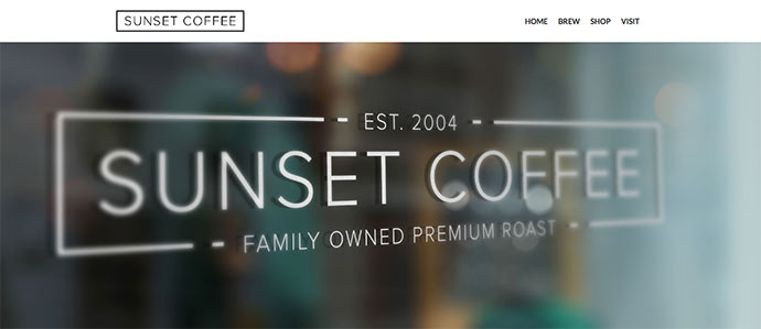 Sunset Coffee - Layers WooCommerce Theme