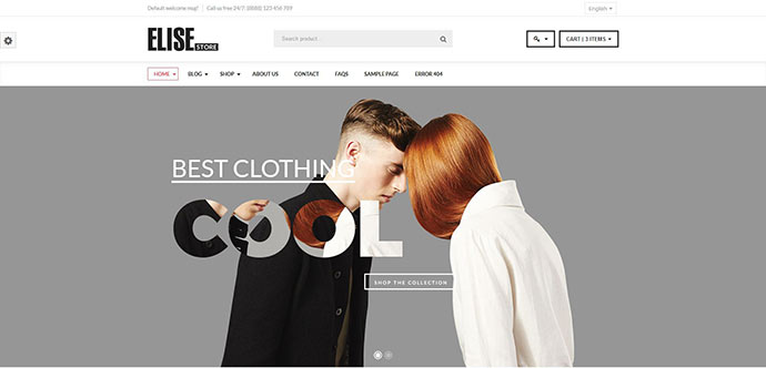 Elise - Fashion WooCommerce WordPress Theme