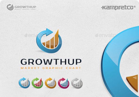 Growth Chart Logo