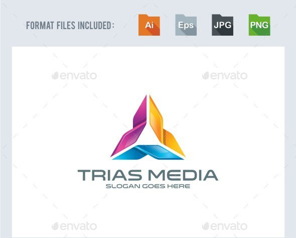 Trinity / Triangle Logo Template