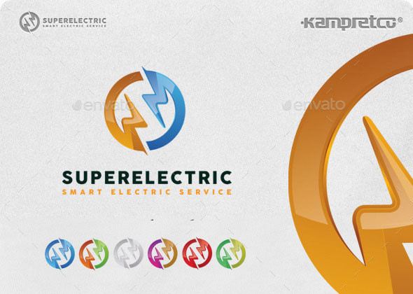 Download Super Electric Logo