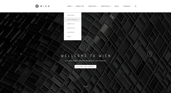 Wien – Modern Business Multi-Purpose HTML5 Website