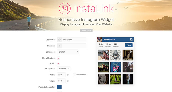instagram cool plugins jquery website web bashooka widget graphic simple