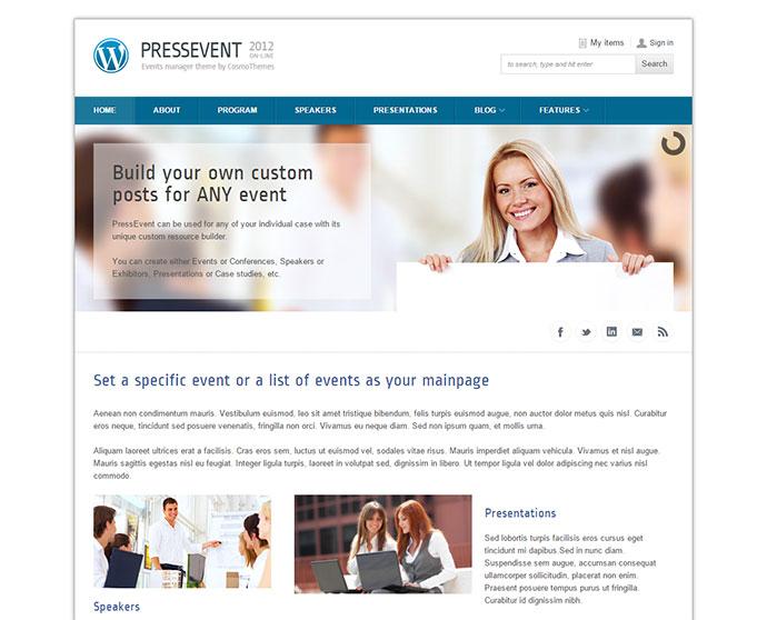 31 Best Premium Conference & Event WordPress Themes31 Best Premium Conference & Event WordPress Themes - Web & Graphic Design - Bashooka - 웹