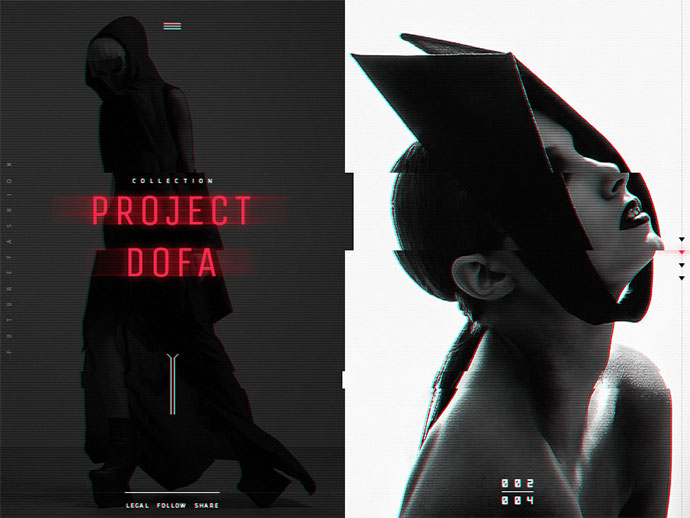 Future Fashion: Janis Sne - website 002 by Viktor Vörös