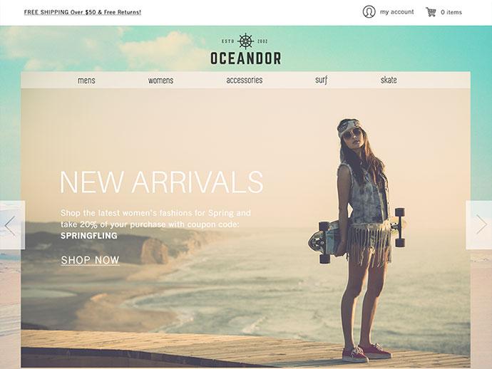Website Concept  by Stephanie Bates