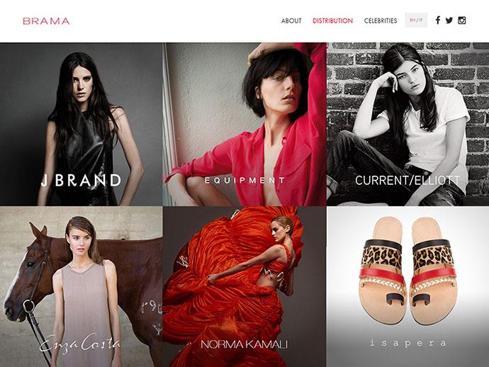 Brama - Website development by Fabio Carretti