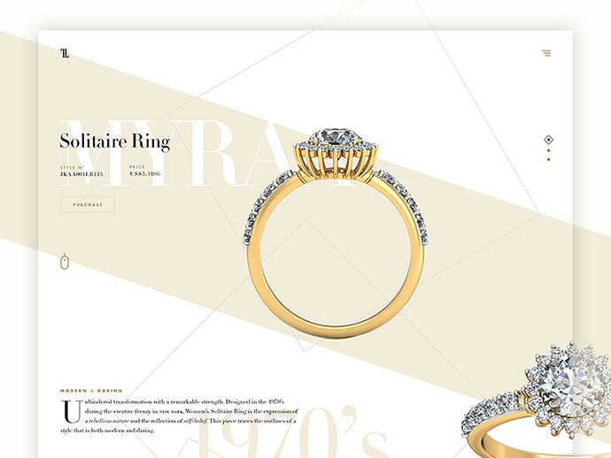 Ring Product Landing (Concept) by Adrián Somoza