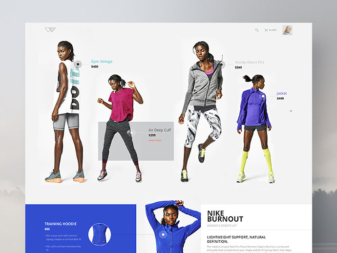 E-commerce Design Concept by Vivek Ravin