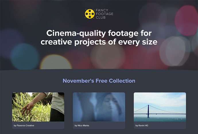 Cinema-quality footage for creative projects of every size