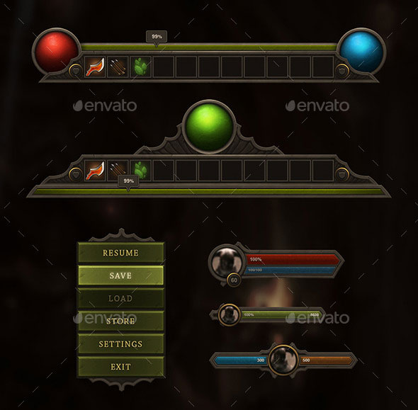 RPG & MMO User Interface