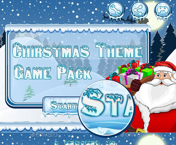 Christmas Game Theme
