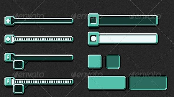 Futuristic Game HUD/Menu Pack