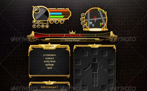 RPG UI Set