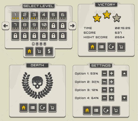 Retro UI Pack
