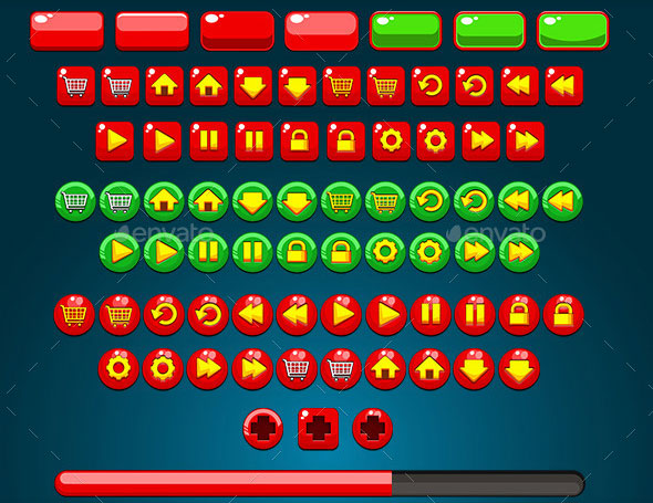 Fun Game GUI - Splash & Score Page