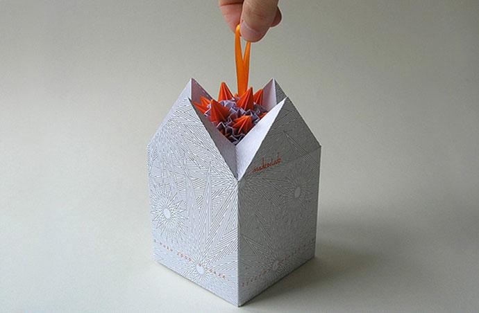 Christmas gift by Politanski Brand Design