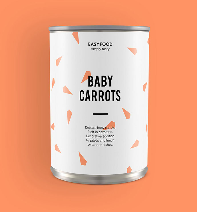 EasyFood Packaging by Adrienn Nagy