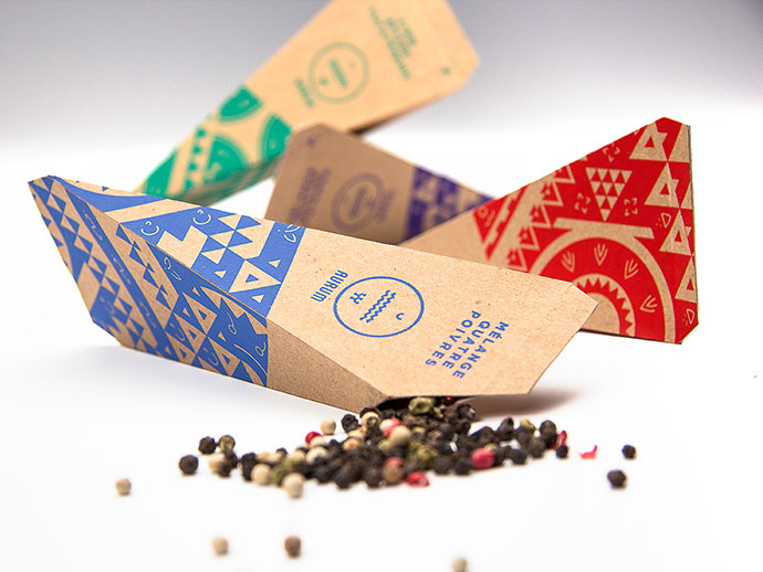 25 outstanding geometric packaging designs