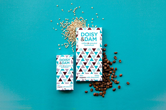 Doisy & Dam Packaging (new range & development) by Beth Salter